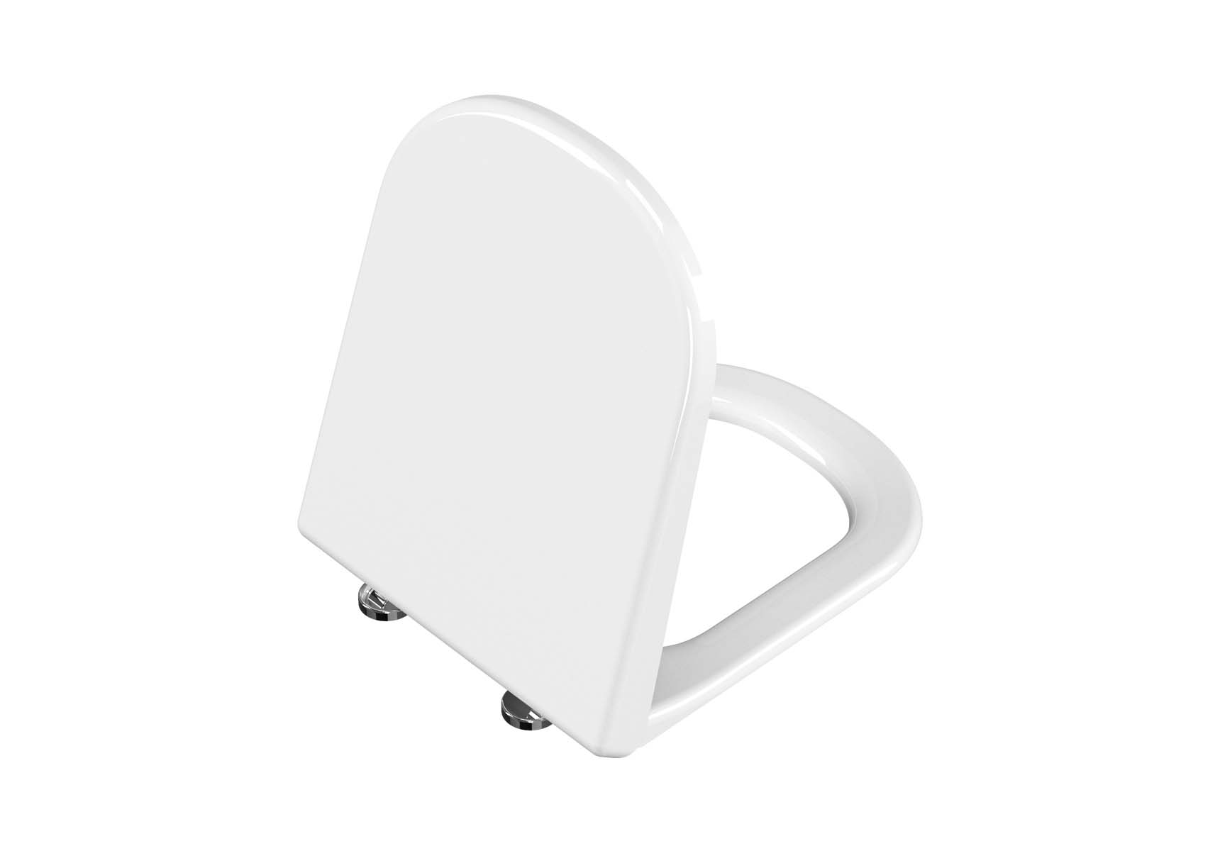 Universal WC Seat-Round Form, Soft Closing