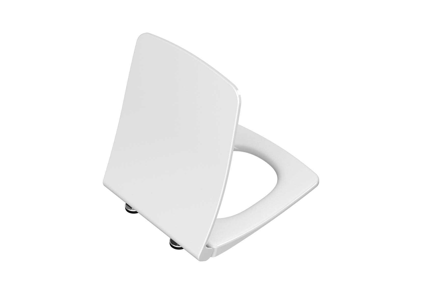 Slim WC-Seat, Soft Closing, Quick Release