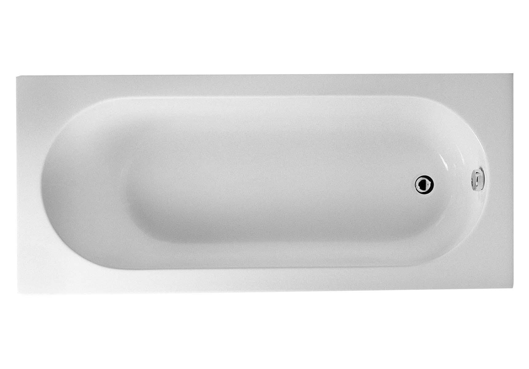Matrix 170x75 cm Rectangular Bathtub with Grip Hole