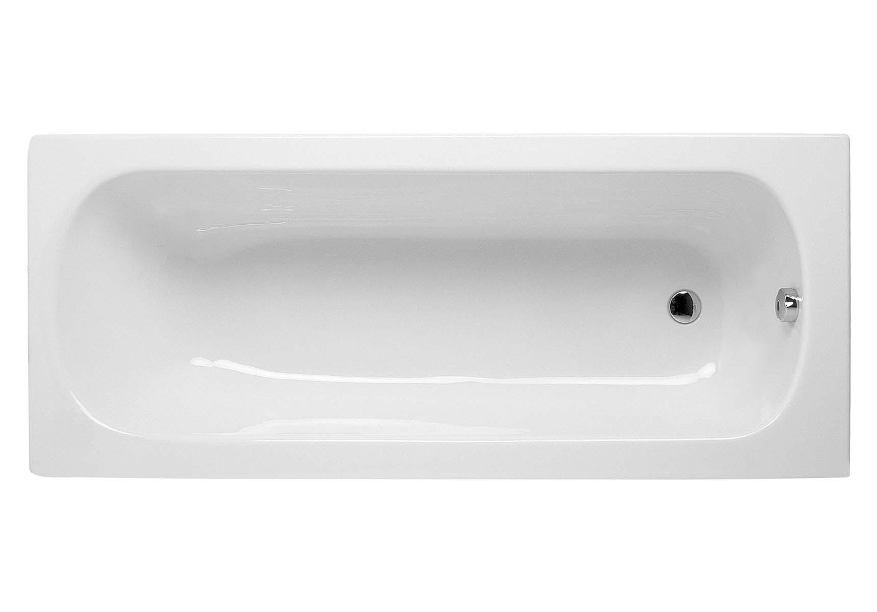 Optima 160x70 cm Rectangular Aqua Soft