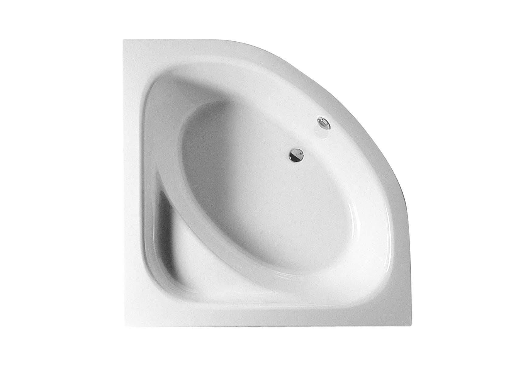 Thera Corner 150x150 cm Aqua Soft Easy-Chrome with Jet