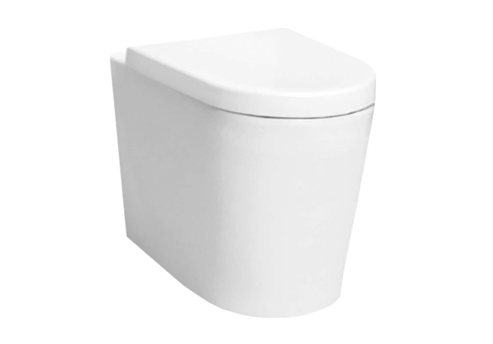 Nest Back-To-Wall Single WC Pan without Bidet Pipe