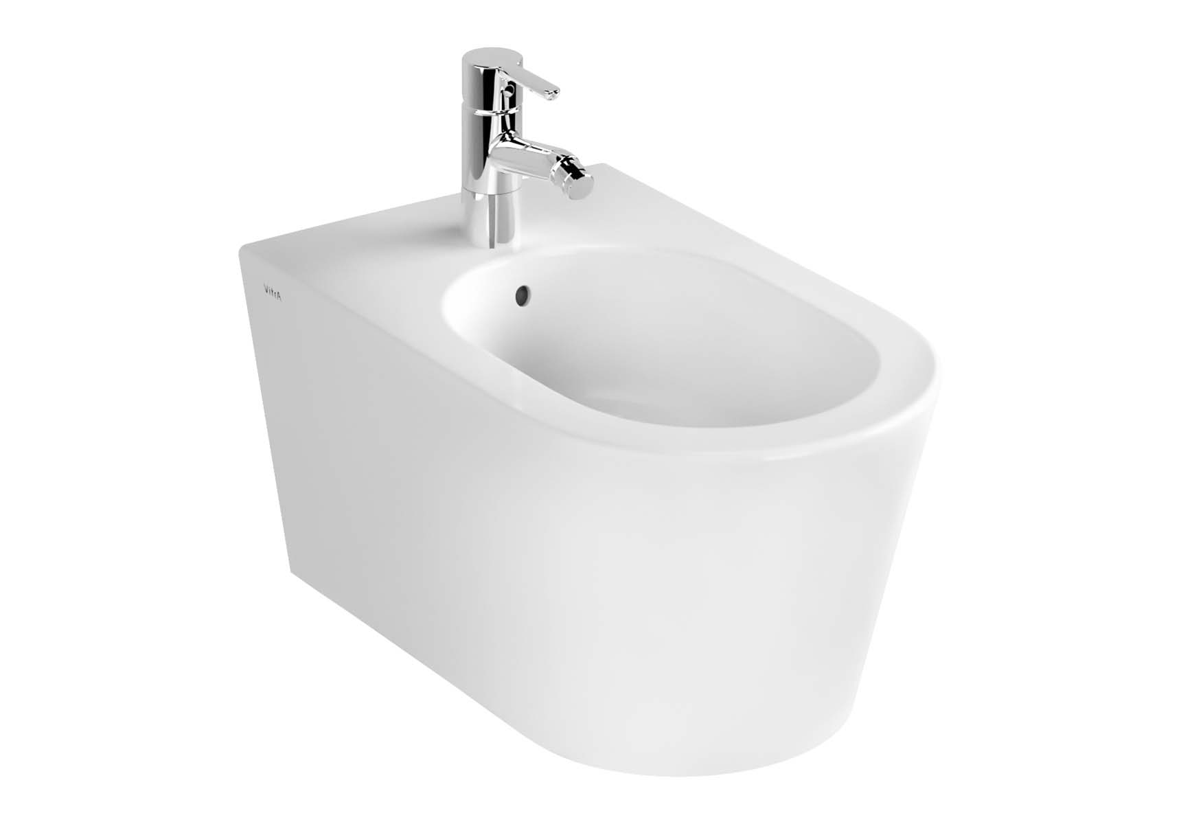 Nest Wall-Hung Bidet without Side Holes, without Tap Hole