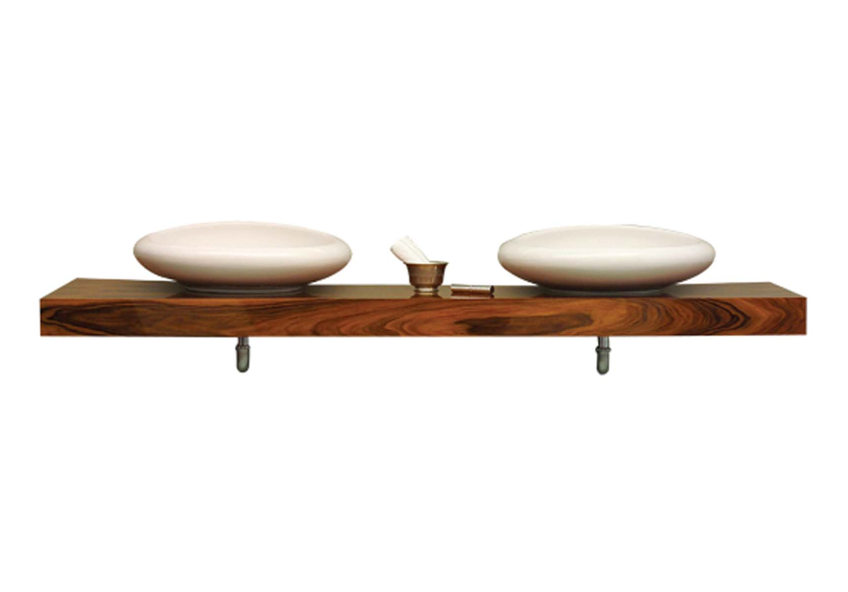 Options Lux Counter, 200 cm Walnut