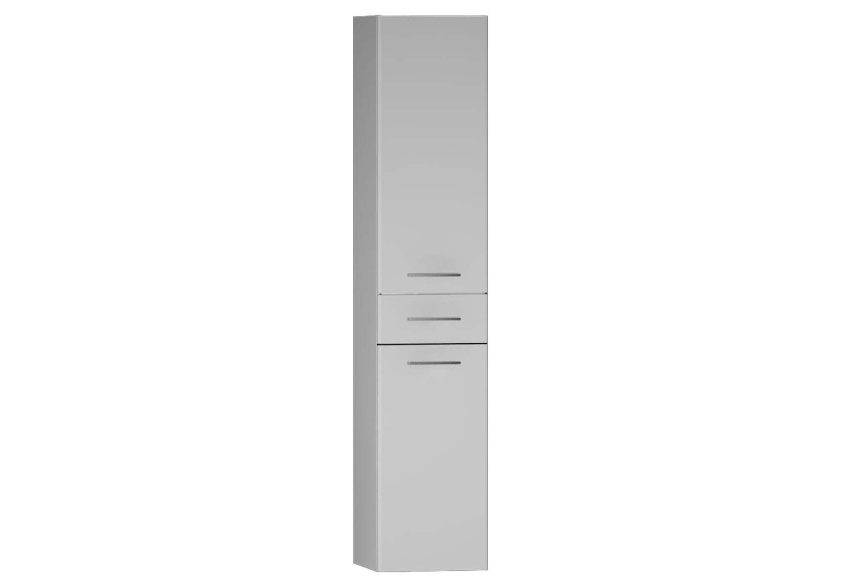 S20 Tall Unit Drawer (Right), White High Gloss