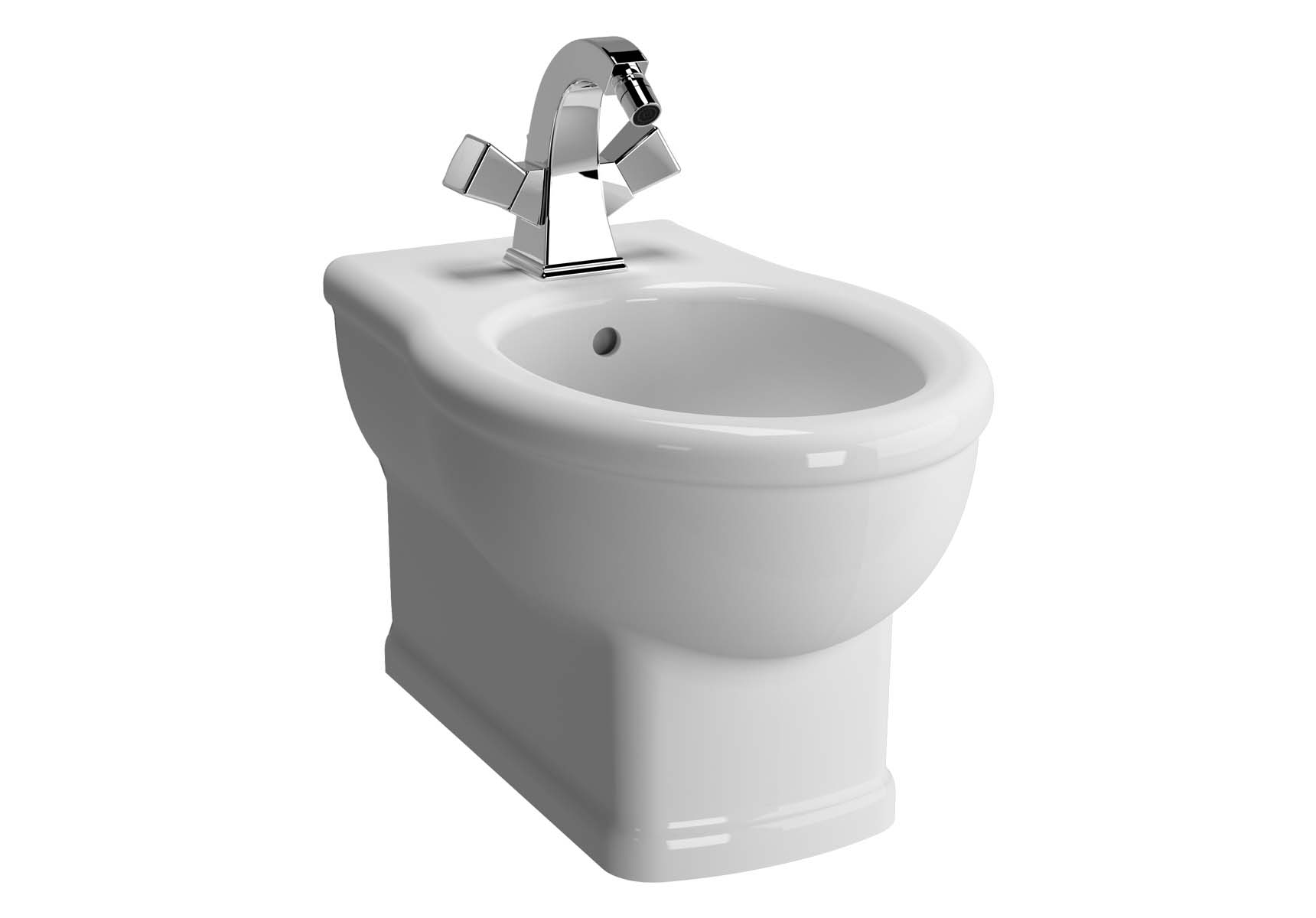 Aria Wall-Hung Bidet Single Hole