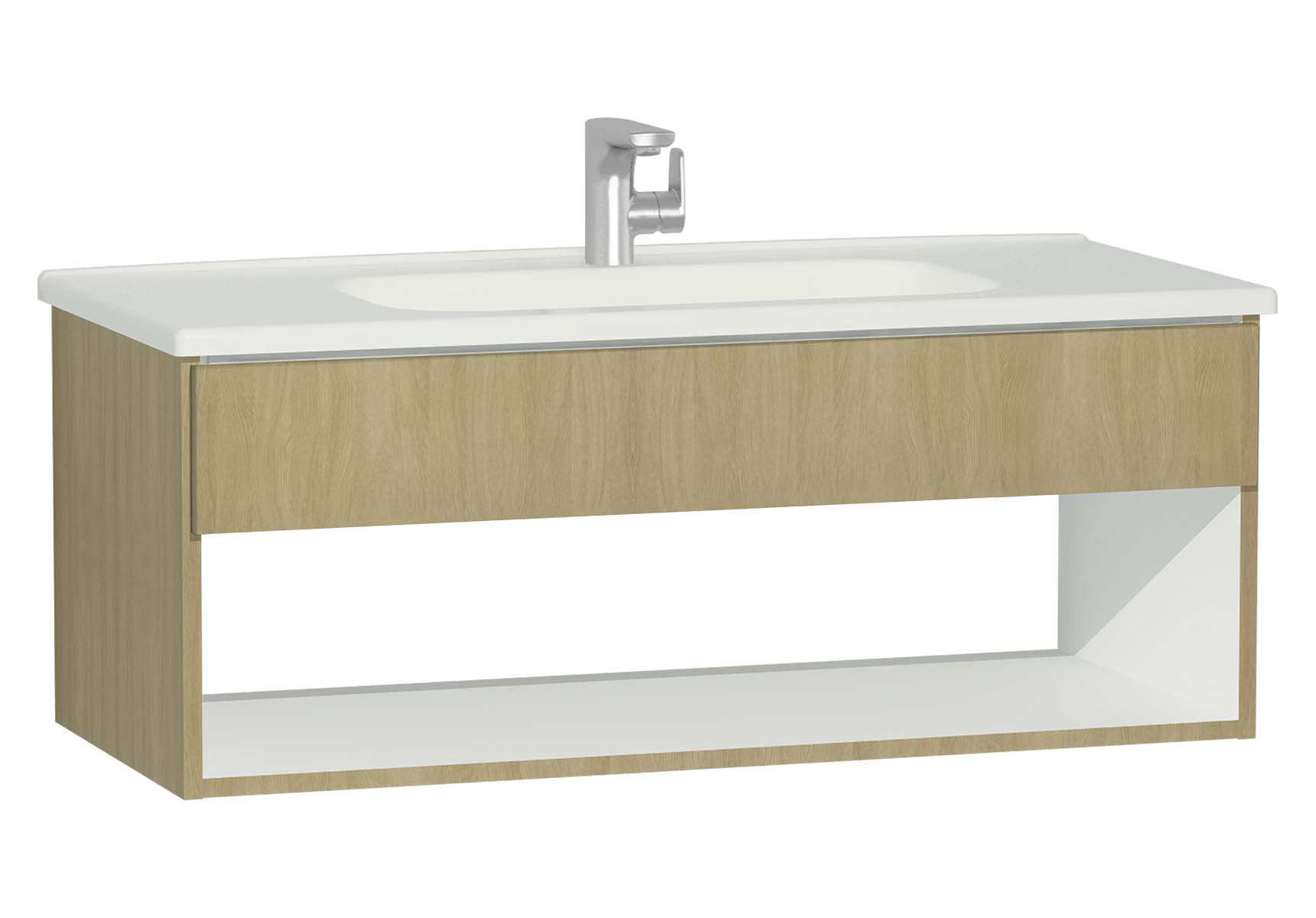 D-Light Hotel Unit, 110 cm, Natural Oak