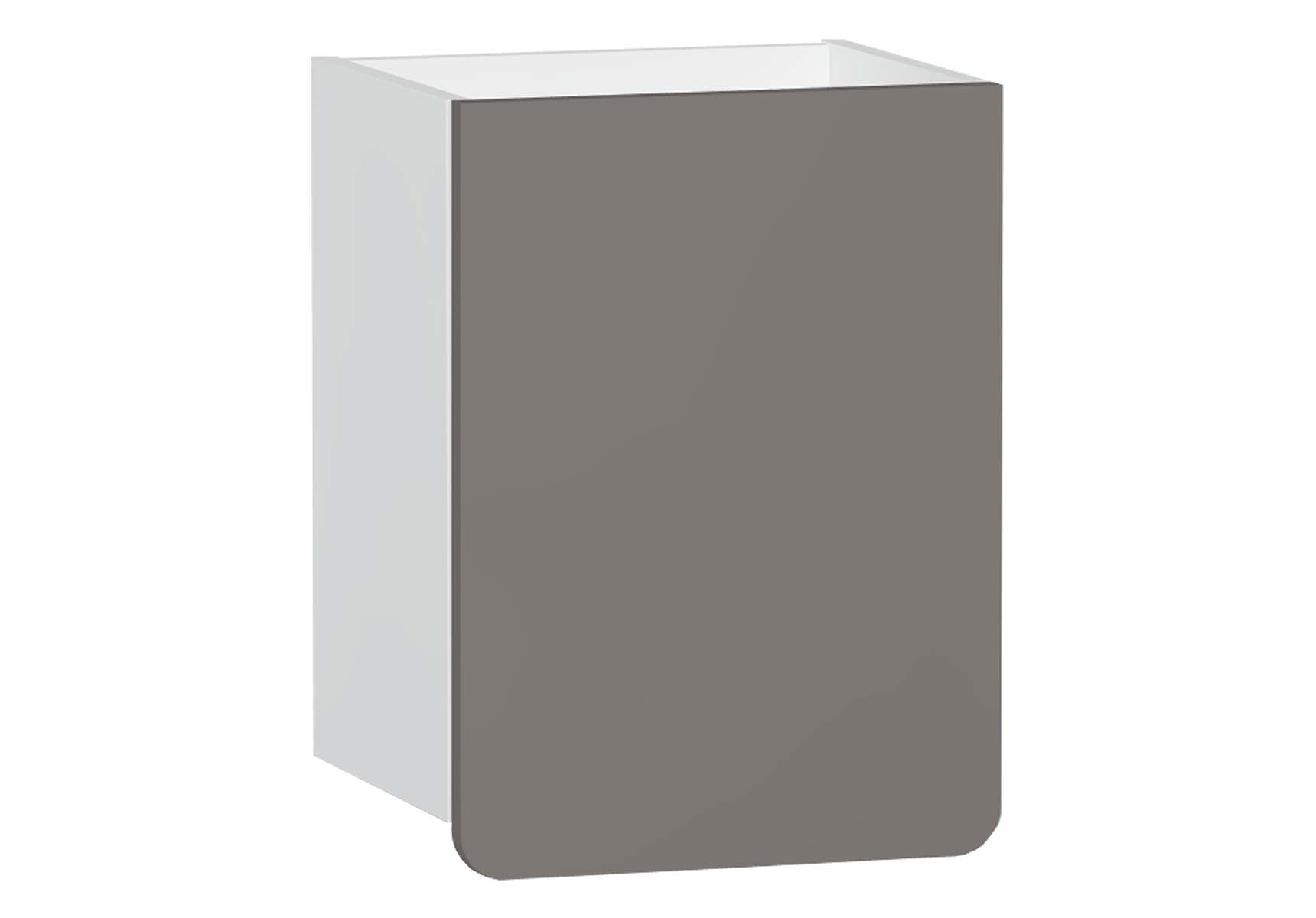 D-Light Side Unit, 40 cm, Matte White & Mink, Left