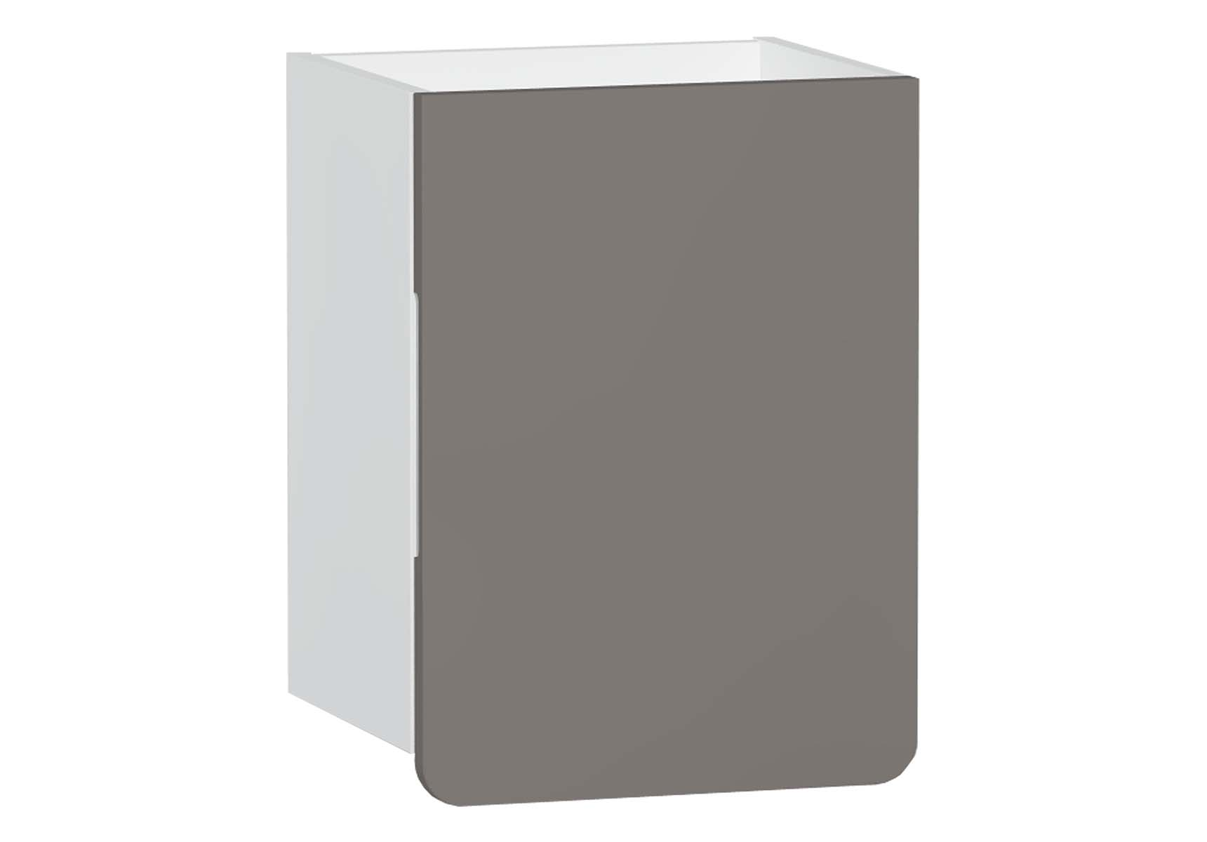 D-Light Side Unit, 40 cm, Matte White & Mink, Right