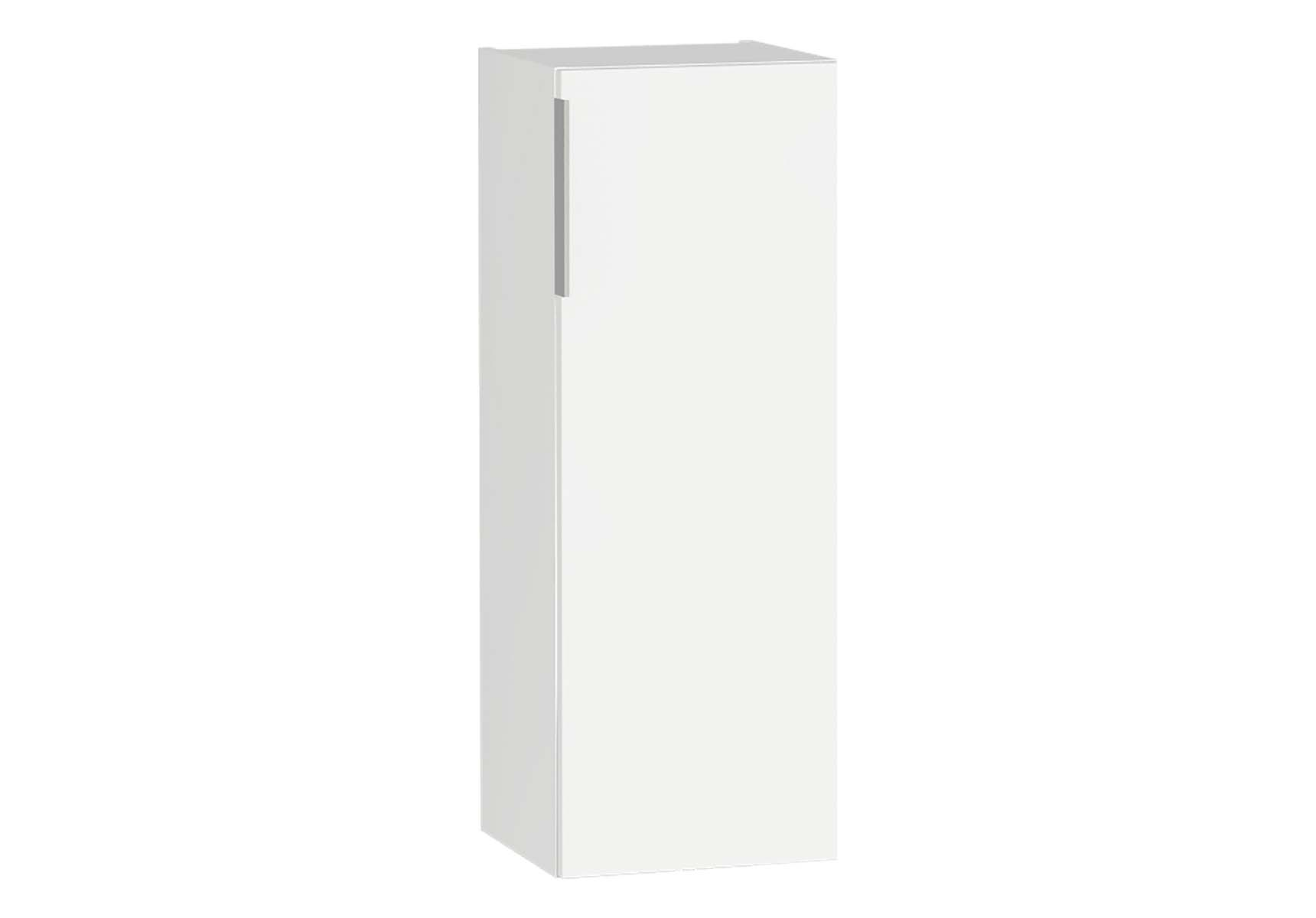 Central Middle Unit, 35 cm, White High Gloss, Right