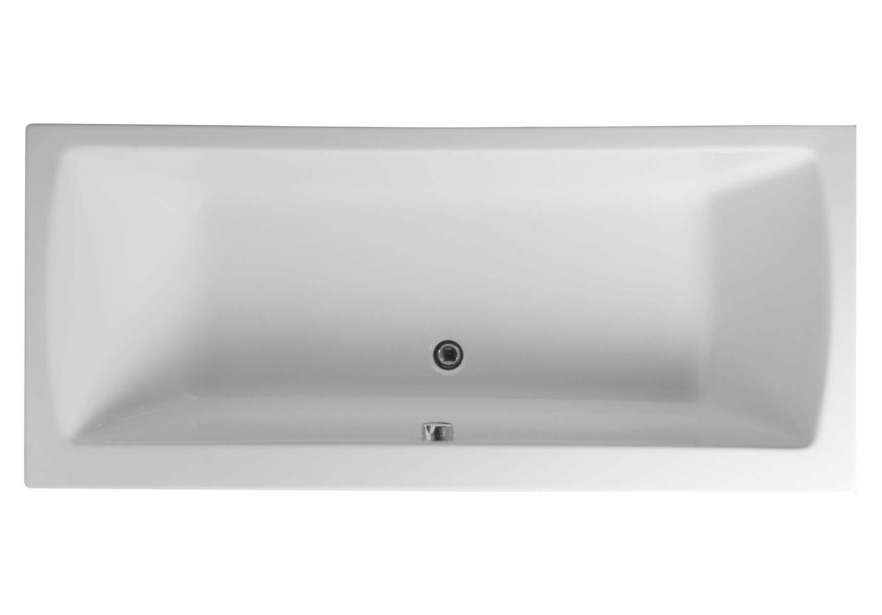 Neon 180x100 cm Rectangular/Double Ended Bathtub