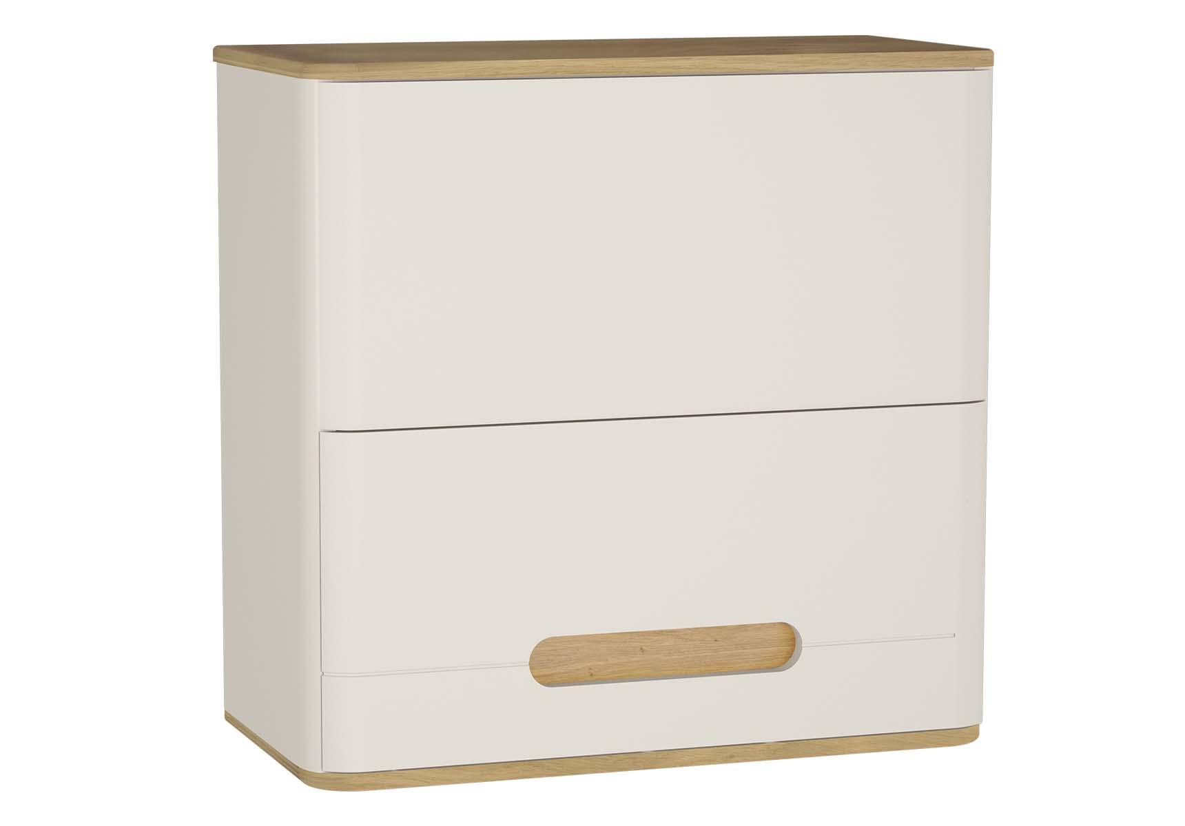 Sento Upper Cabinet, 70 cm, Matte Cream