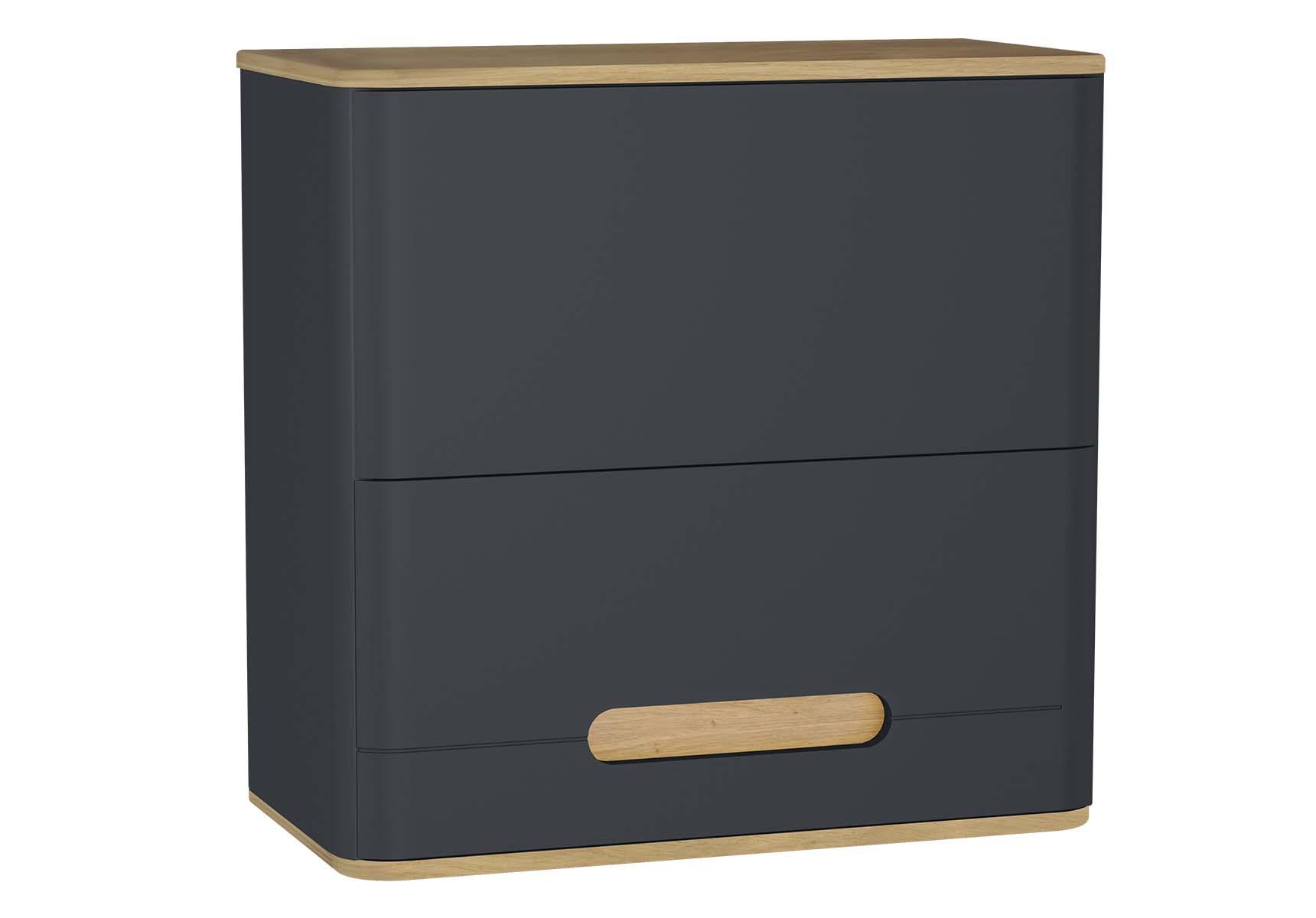 Sento Upper Cabinet, 70 cm, Matte Anthracite