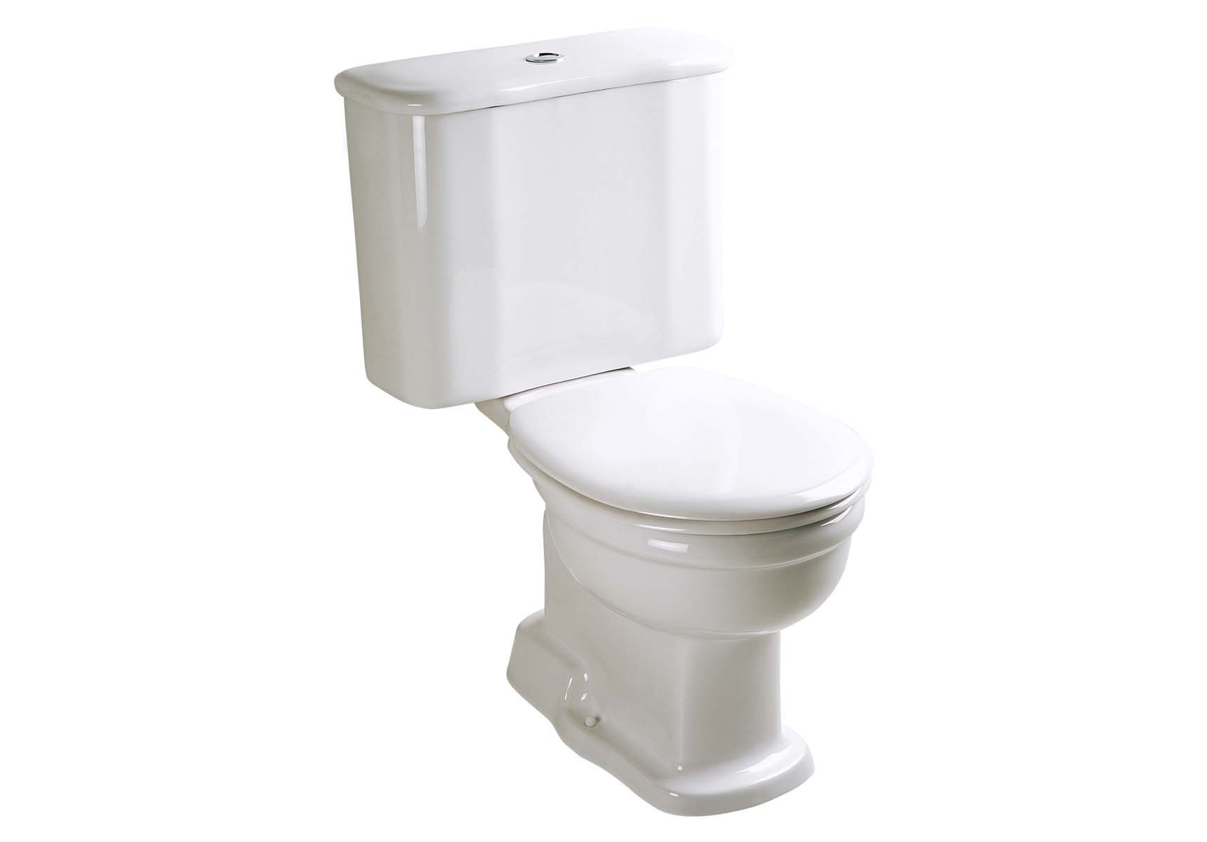 Aria Close-Coupled WC Pan with Bottom Outlet without Bidet Pipe