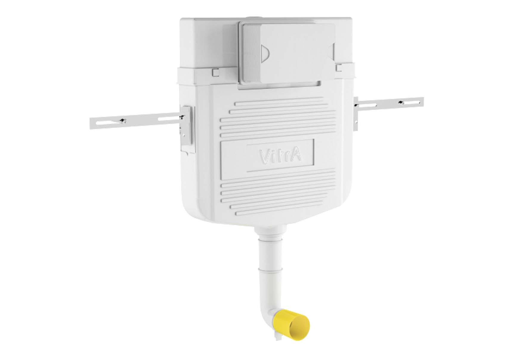 Standard Installation - 3/6 Liter Concealed Cistern Set for squatting pans- 8 cm