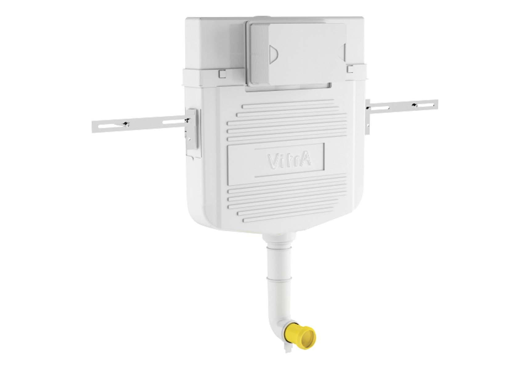 Standard Installation - 3/6 Liter Concealed Cistern Set(for Floor Standing Single WC Pan) - 8 cm
