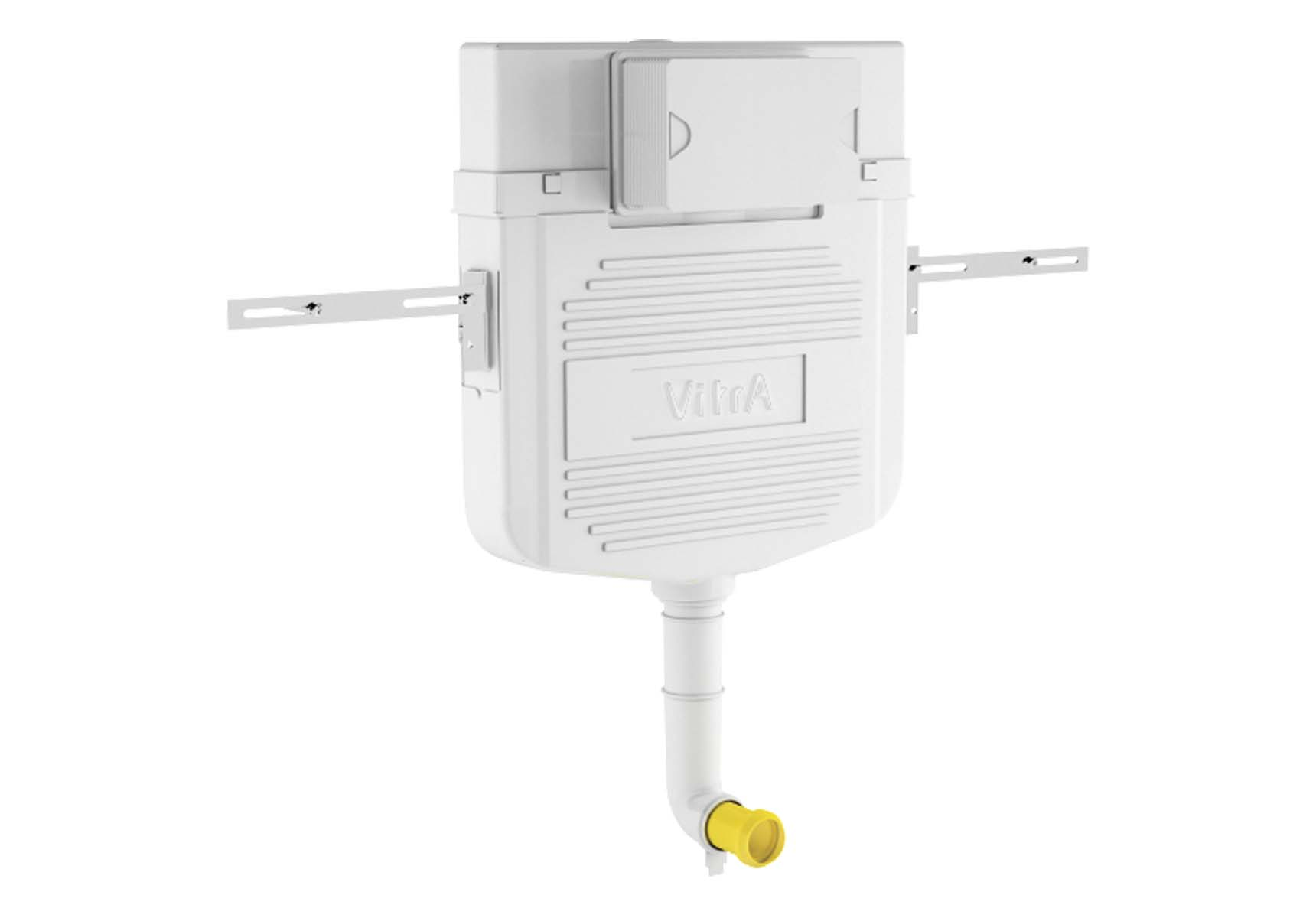 Standard Installation - 2,5/4 Liter Concealed Cistern Set(for Floor Standing Single WC Pan) - 8 cm
