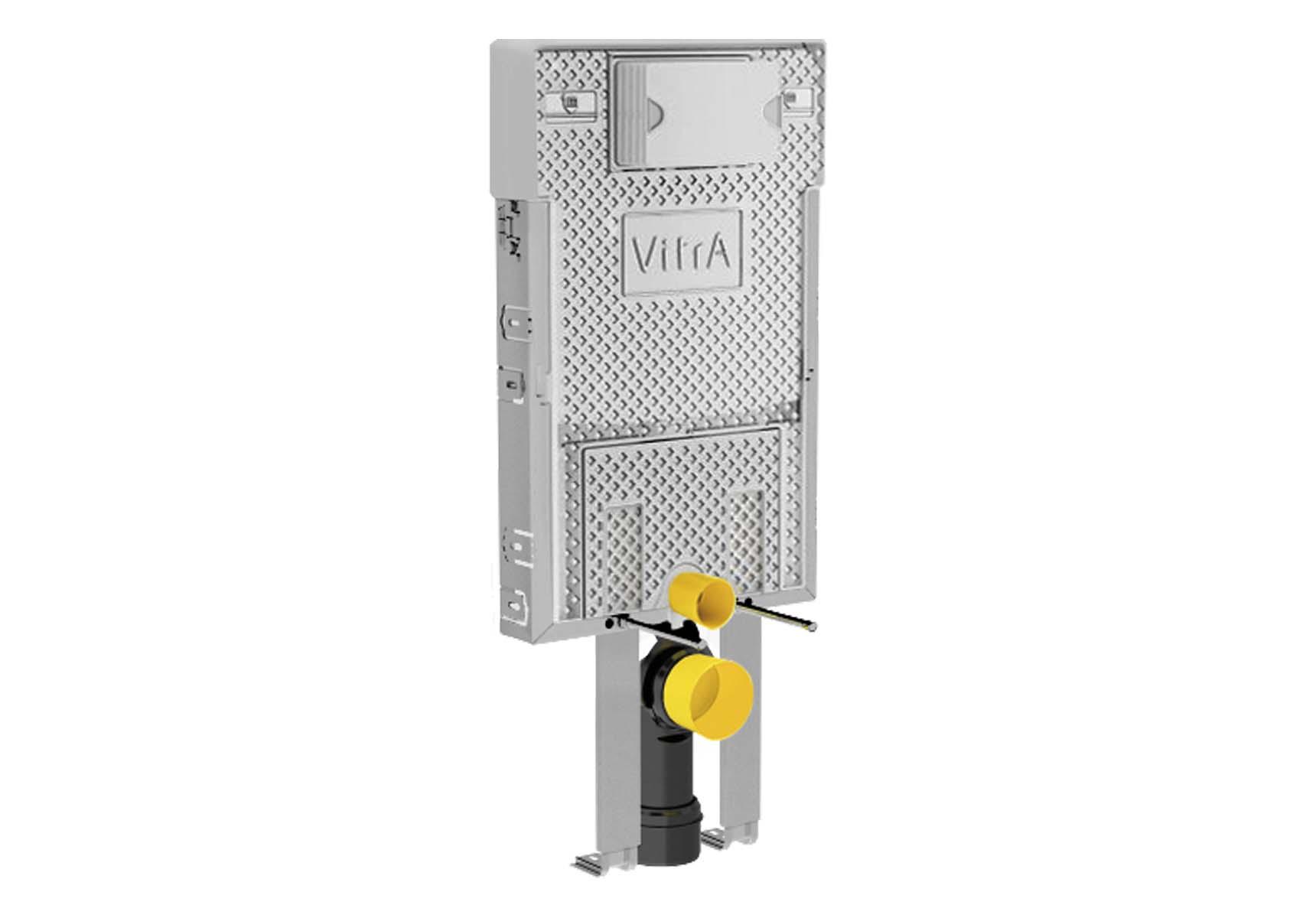 VitrA Pro Standard Installation - 3/6 Liter Concealed Cistern Set (with adjustable thick metal brackets)