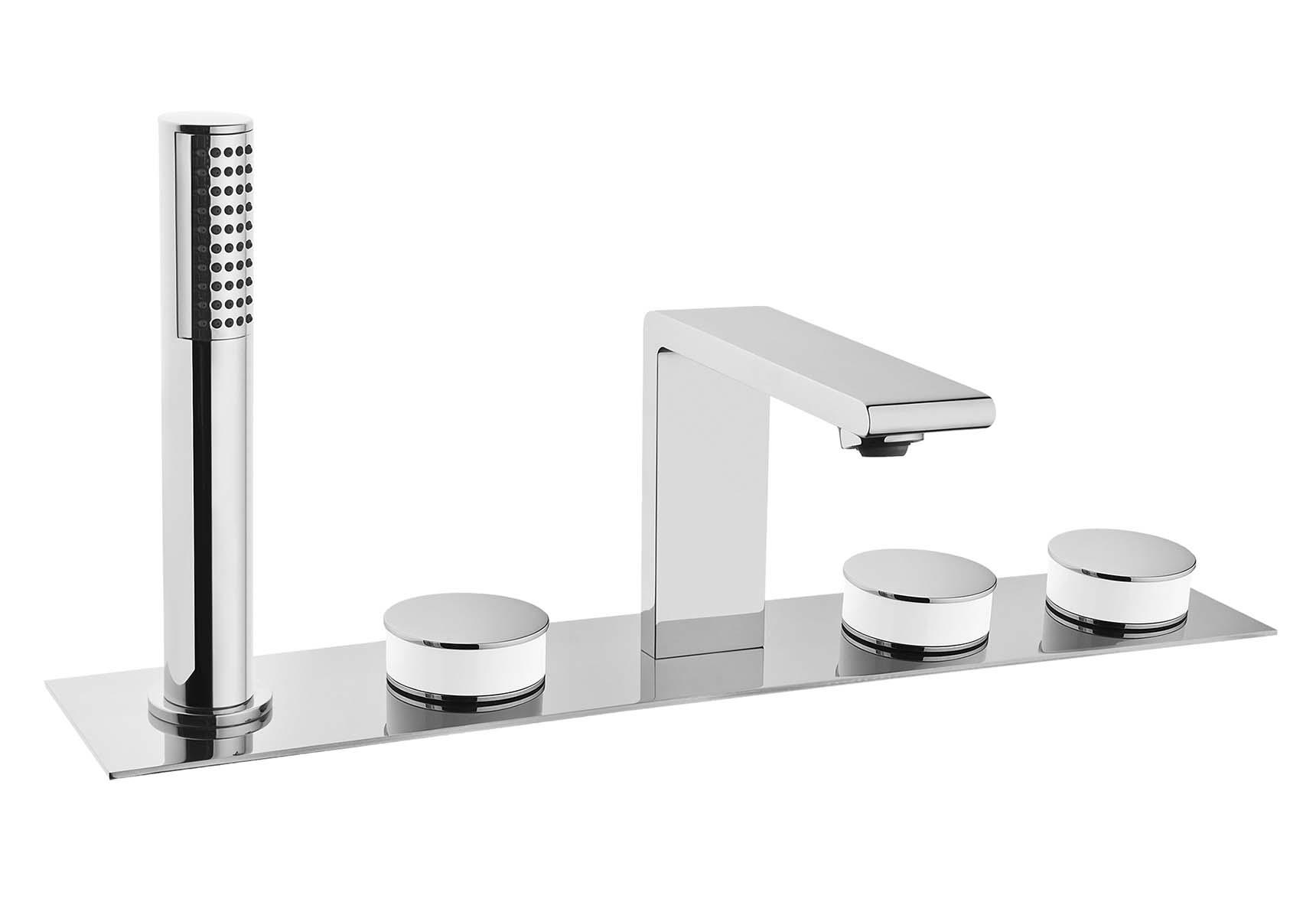 Memoria Bath Mixer (Deck Mounted)