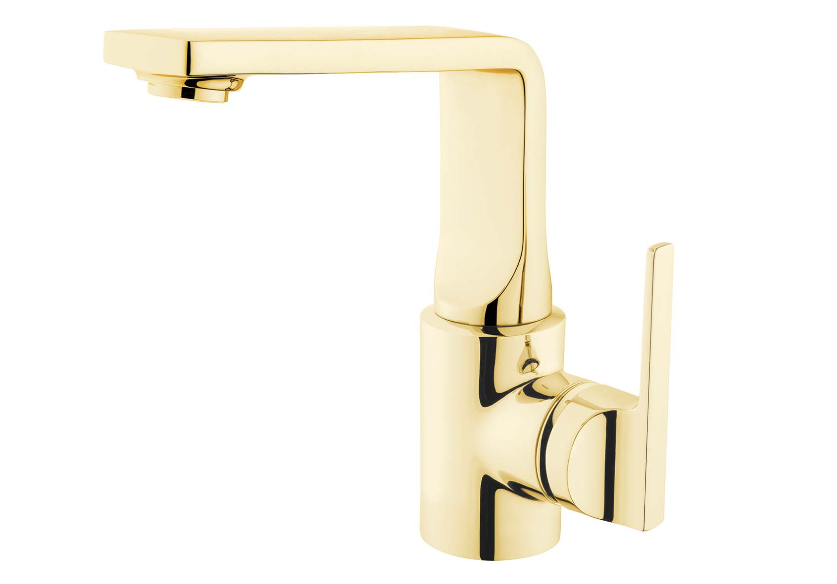 Suit Basin Mixer, Gold