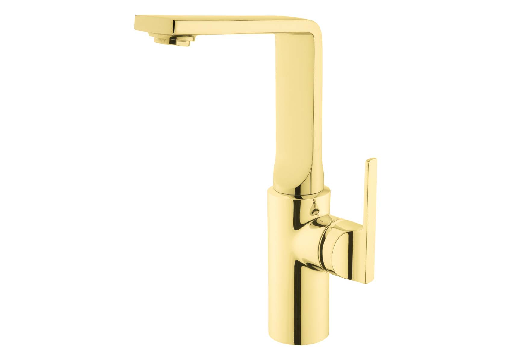 Suit Basin Mixer, With Pop-Up-For Bowls, Gold