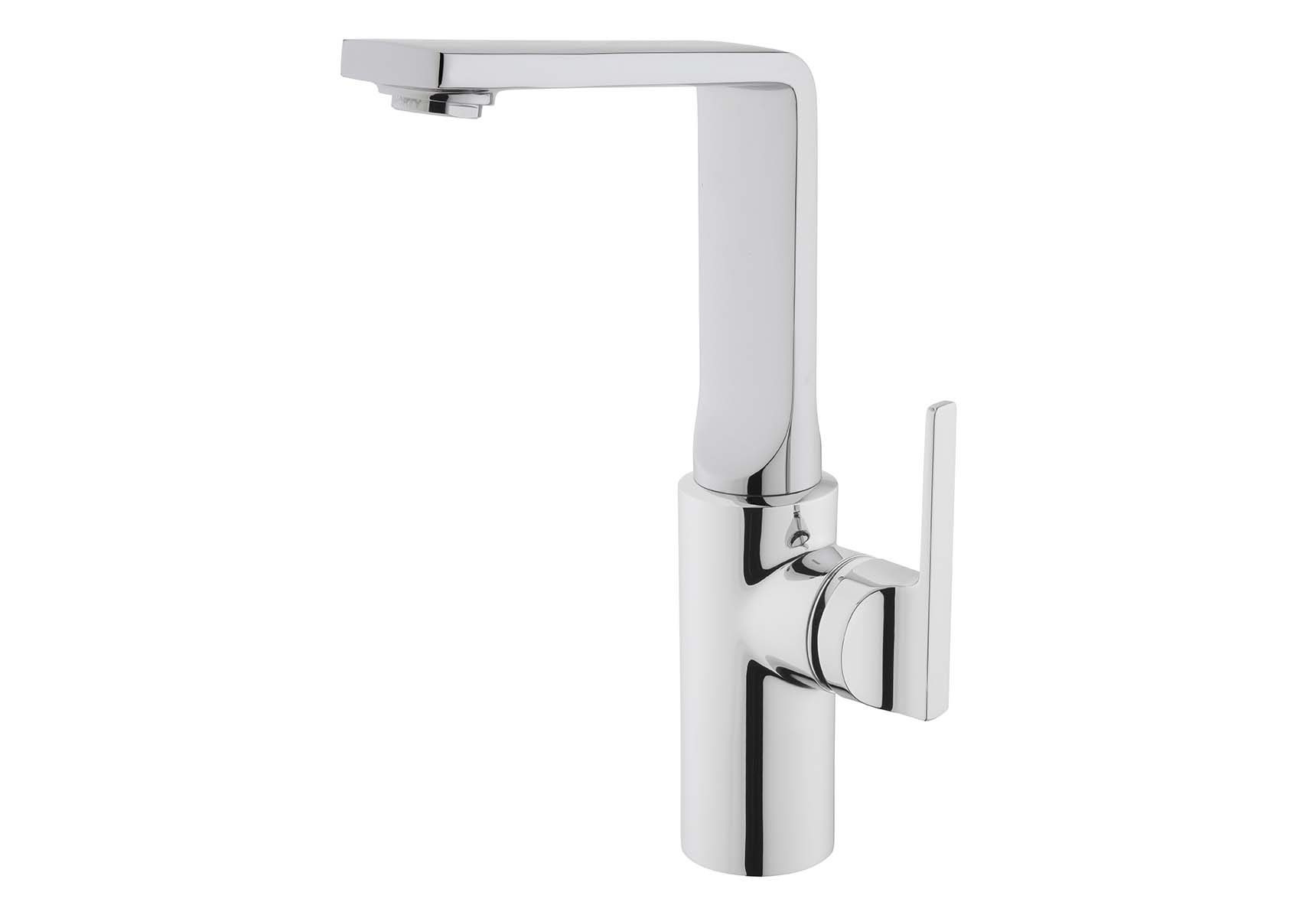 Suit Basin Mixer, With Pop-Up-For Bowls, Chrome