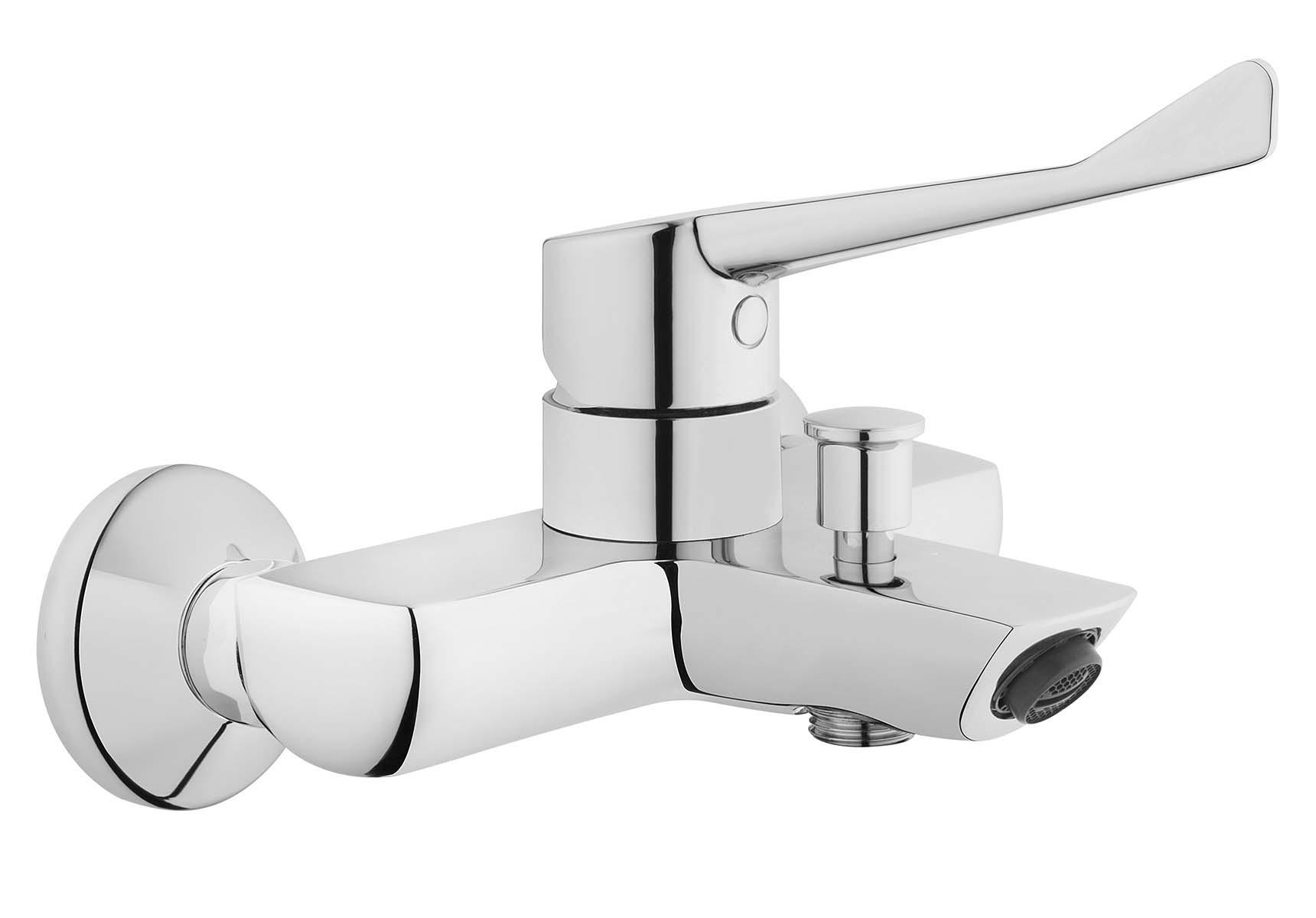 Solid S Bath/Shower Mixer, Chrome