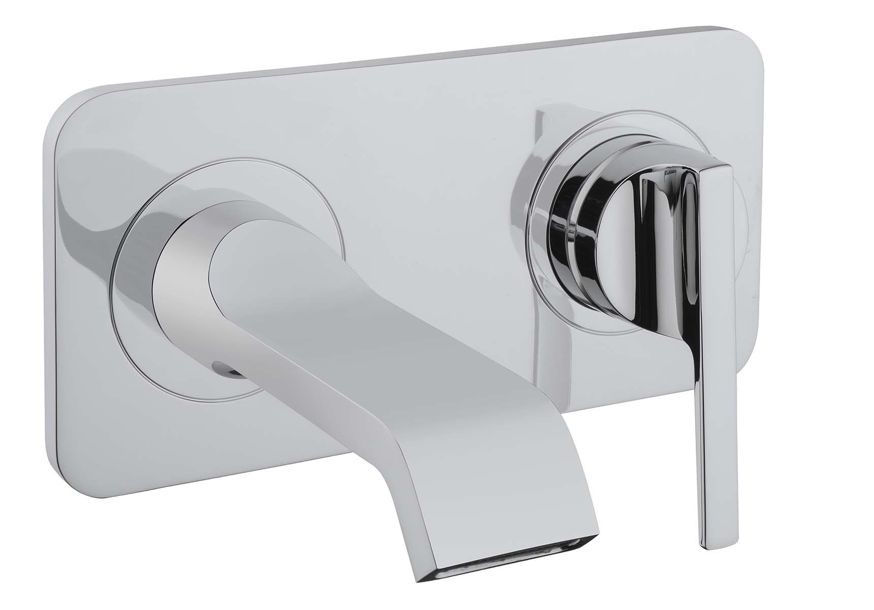 Suit Built-In Basin Mixer, Exposed Part, Chrome