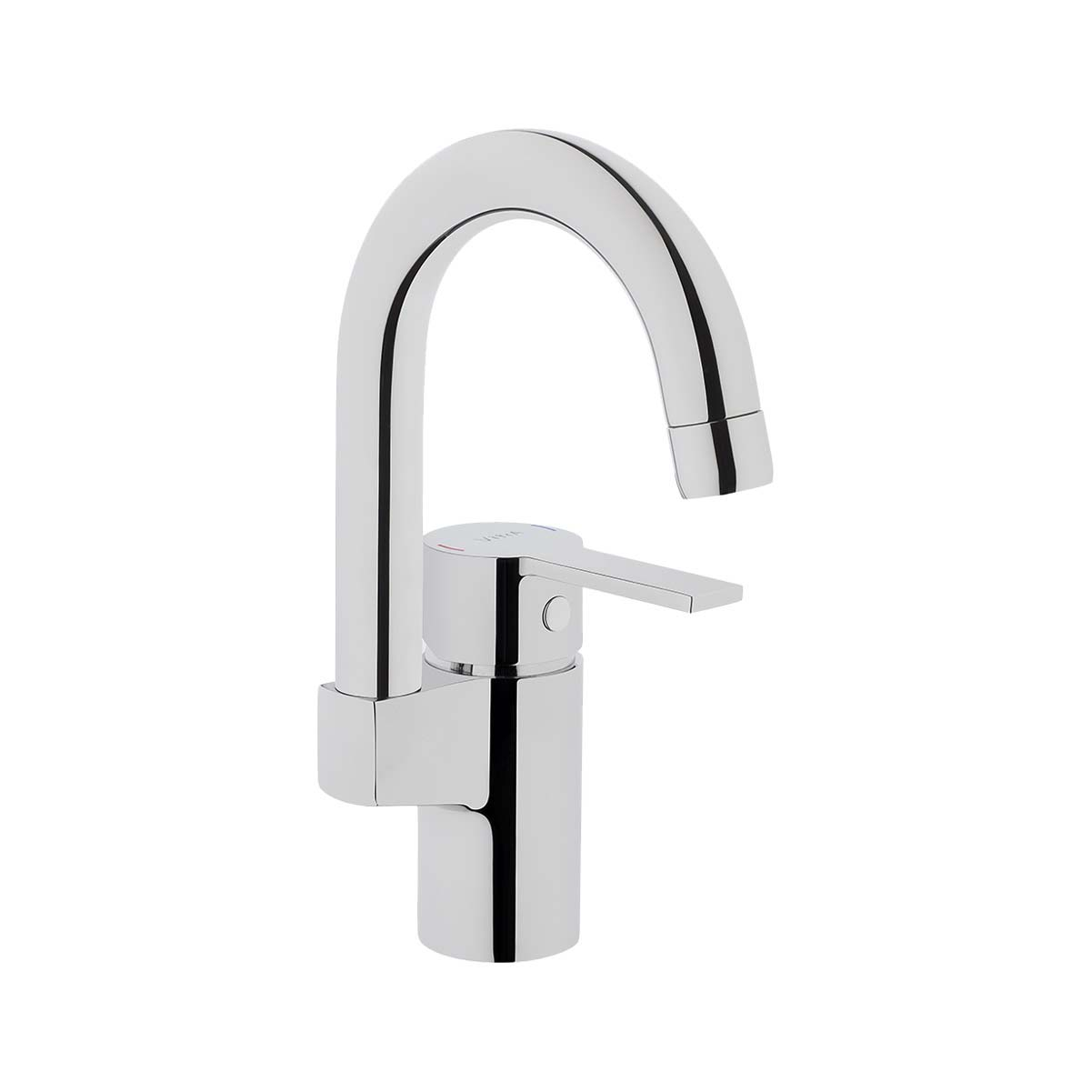 Basin mixer (with swivel spout)