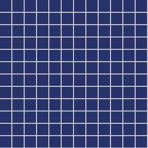 2.5x2.5 Color Aqua Tile Ral 5002 Glossy