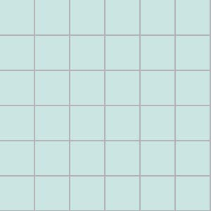 5x5 Color Aqua Tile Ral 2008020 Glossy