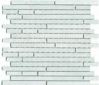 1.5x15 Pompei Cut Border White Matt