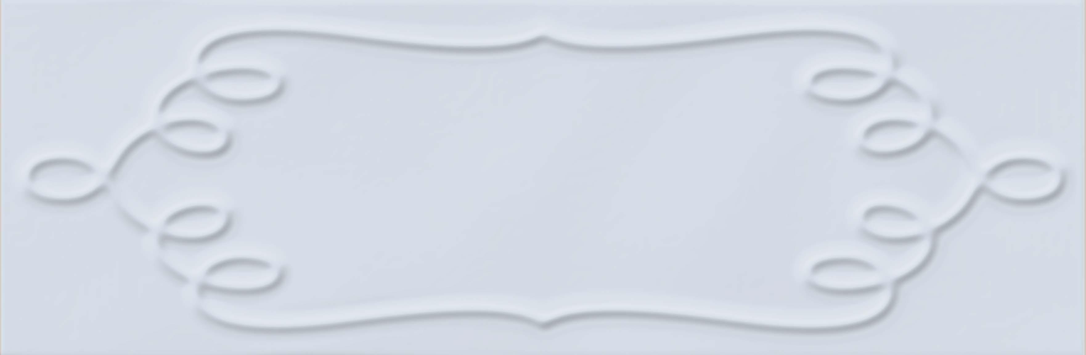 10X30 Homemade Örgü Çerçeve Decor Sky Blue Glossy
