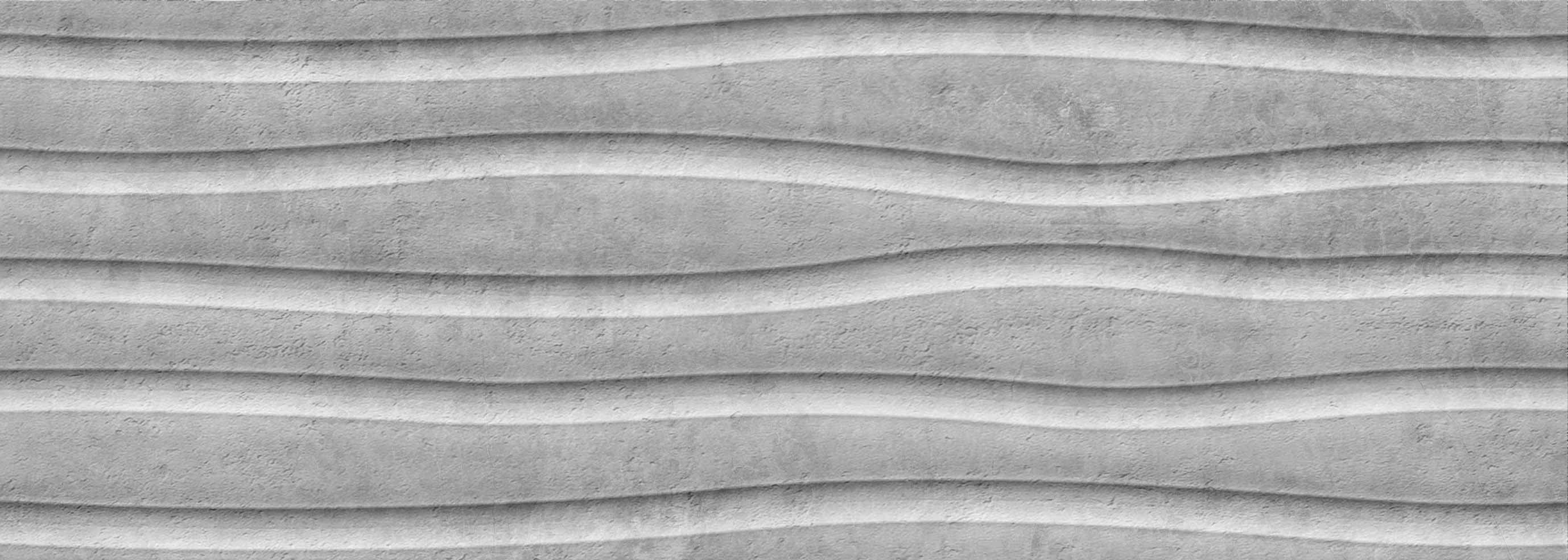 25X70 Tundra Sky 3D Decor Grey Matt