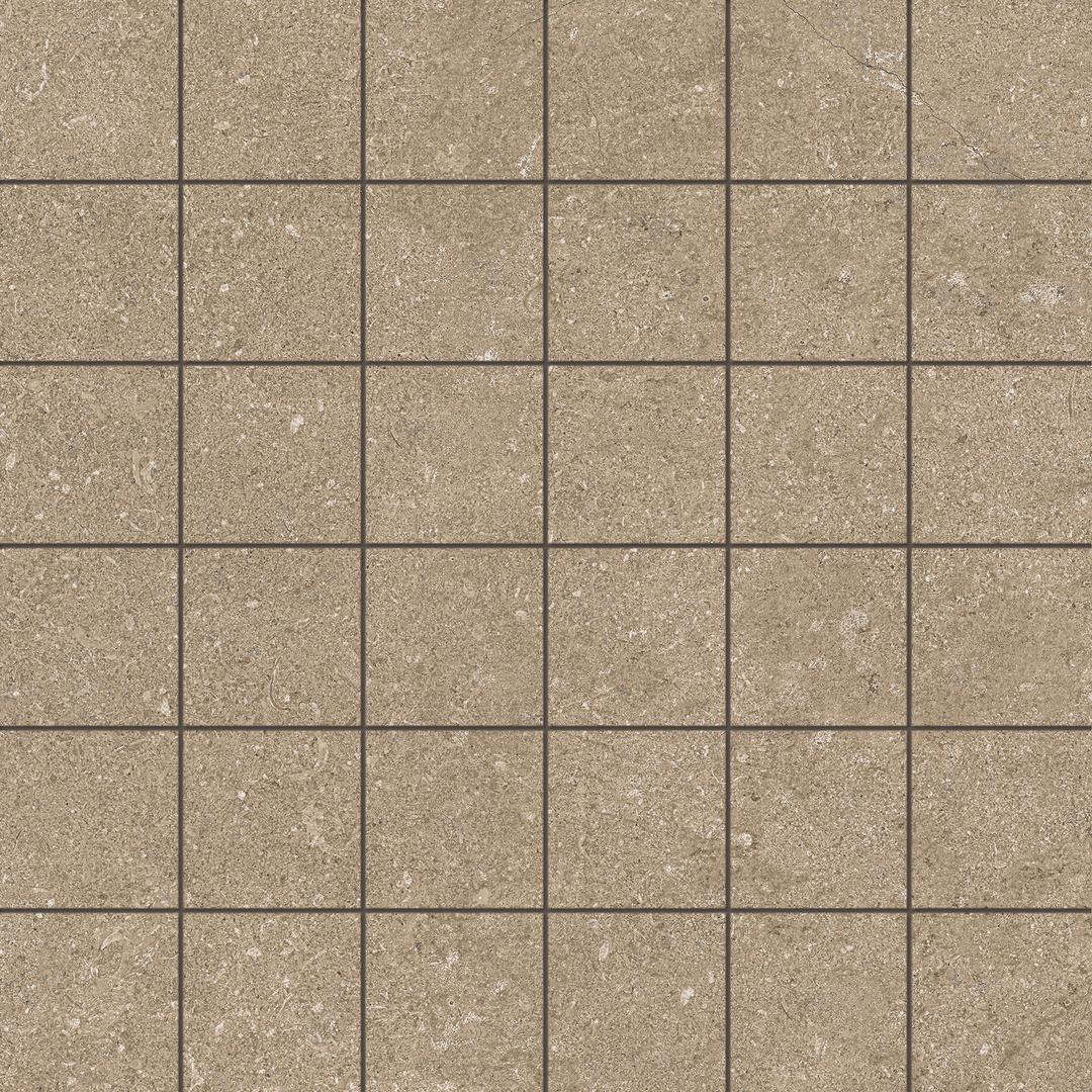 5x5 Newcon Border Taupe Semi Glossy